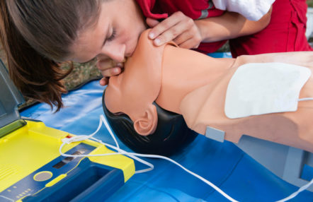 Emergency First Aid at Work course - In Safe Hands training Cornwall