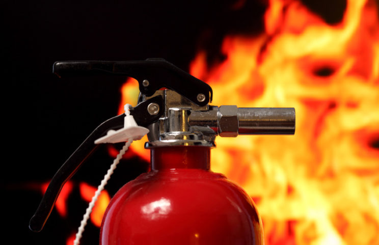 Fire Safety training – In Safe Hands training
