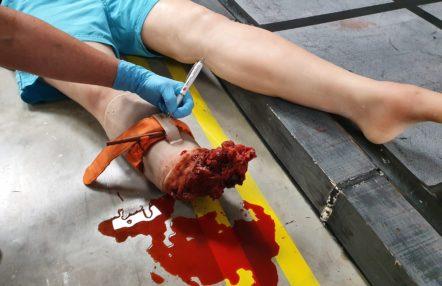 Celox / Tourniquet bleed management training - In Safe Hands training